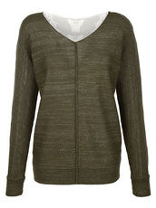 Pullover Laura Kent oliv/gold