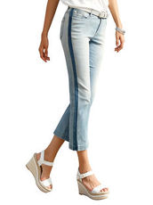 Cropped Jeans Ascari blue bleached