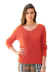 Pullover Alba Moda Green burned orange