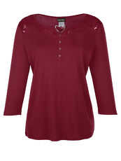Shirt Laura Kent bordeaux