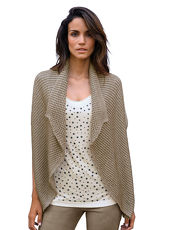 Strickjacke AMY VERMONT beige