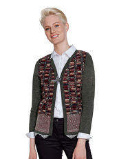 Strickjacke AMY VERMONT multicolor