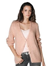Strickjacke AMY VERMONT puder