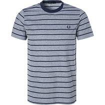Fred Perry T-Shirt Oxford Stripe Pique M3569/302
