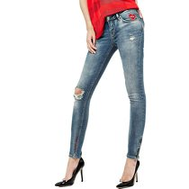 Guess JEANS SLIM HERZAPPLIKATION