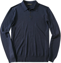 Falke Polo Button Pullover 1150579/6358