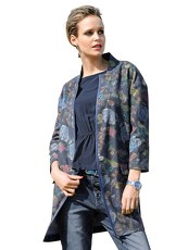Wollmantel Alba Moda Green multi
