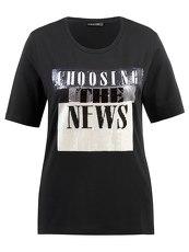 T-shirt con schriftprint S Oliver Boys