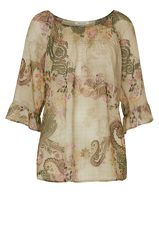 Betty Barclay Bluse mit Paisley Muster