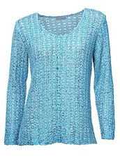 ASHLEY BROOKE by Heine Bändchenpullover mit Metallic-Effekt