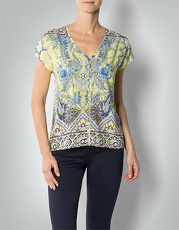 Daniel Hechter Damen Bluse Shirt-Bluse mit Paisley-Muster