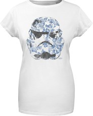 Gozoo T-Shirt »Star Wars - Imperial Stormtrooper - Floral - Women«