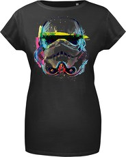 Gozoo T-Shirt »Star Wars - Imperial Stormtrooper - NEON Sketch Ar«